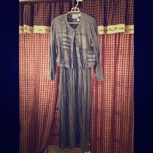 Women's Rayon Dress 2pc